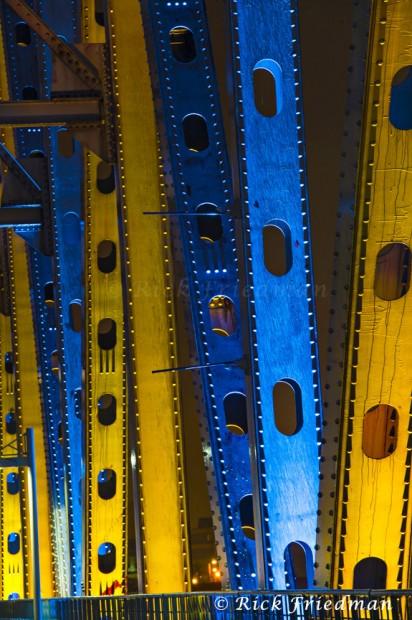 Little Rock bridge lighting