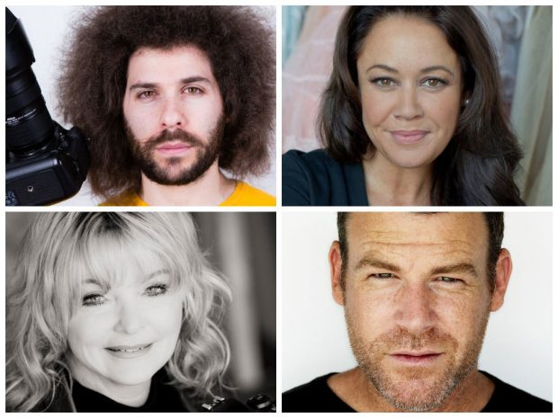 Clockwise from top left: Jared Polin, Sue Bryce, Peter Hurley, and Bambi Cantrell.