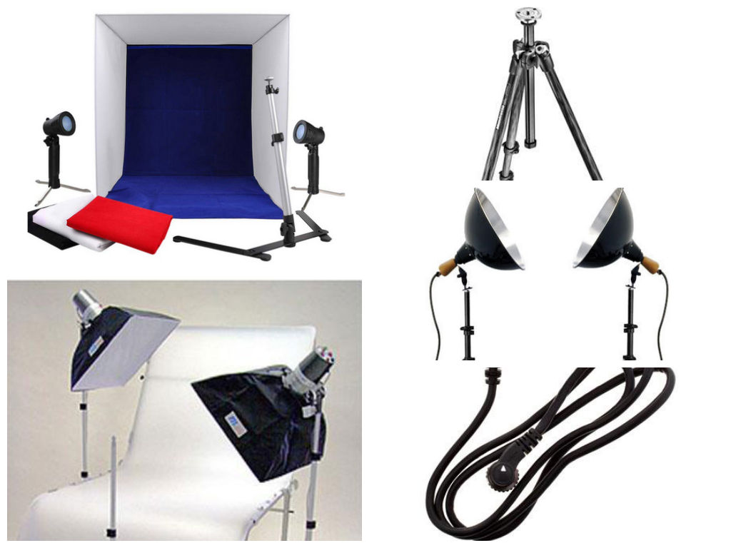 Build a Tabletop Photography Studio Using Just 5 Pieces of Gear
