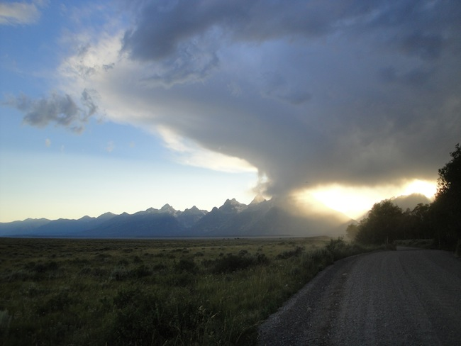 Grand Tetons - my home for 3 months in 2010
