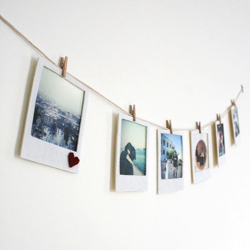 Felt Polaroid Garland