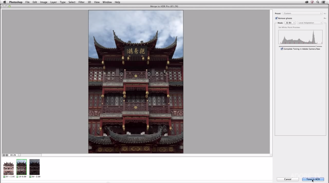 Processing HDR Images Using Adobe Camera Raw - CreativeLive Blog