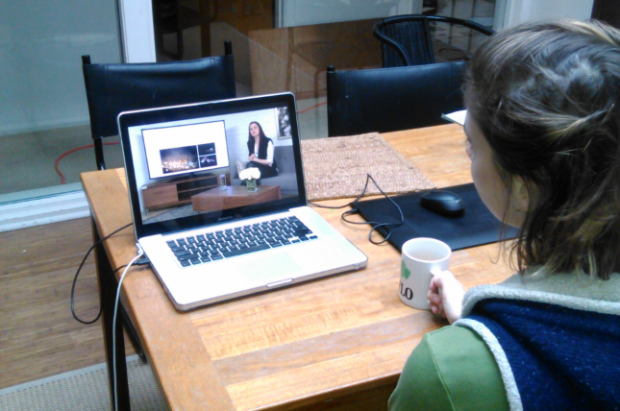 Zoe hones her skills during a creativeLIVE photography course.
