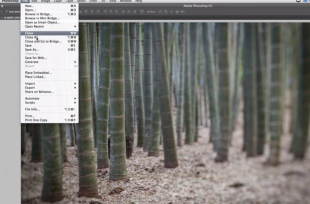 Linking smart objects in Photoshop