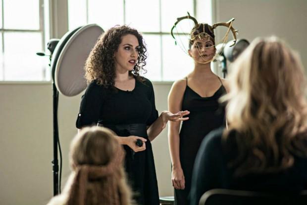 Lindsay Adler teaching