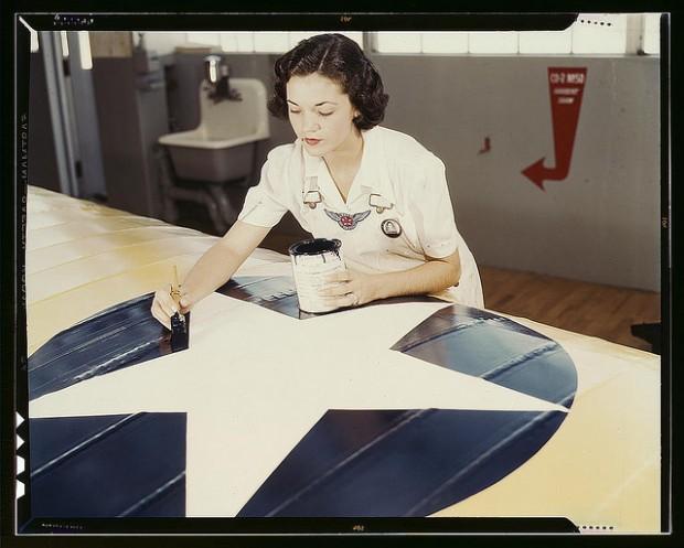 WWII women's service