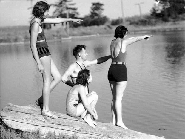 vintage swimsuit photos