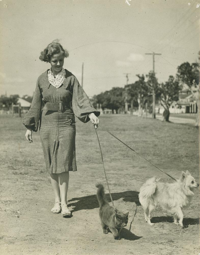 Tbt vintage pet photography from way back in the day for Upullandpay
