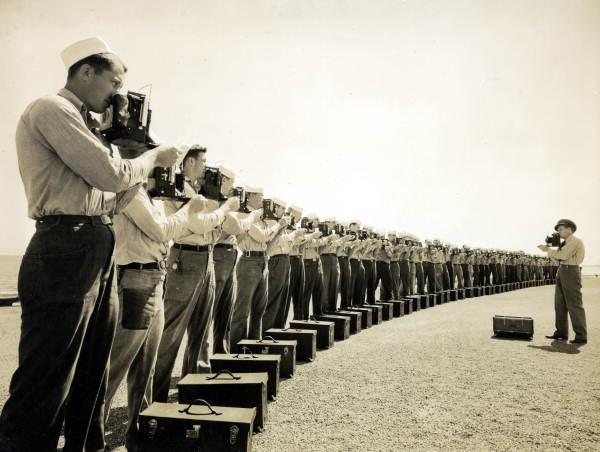vintage photos of cameras