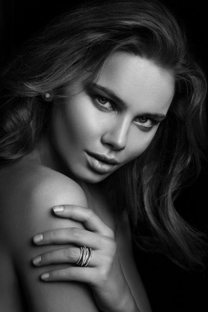 Lindsay Adler — B&W Skin Portrait