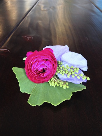 diy corsage mother's day