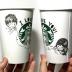 starbucks white cup