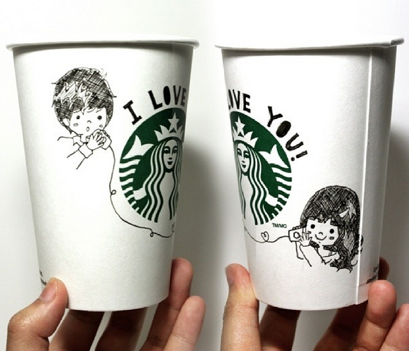 Starbucks Encourages Creativity With White Cup Contest