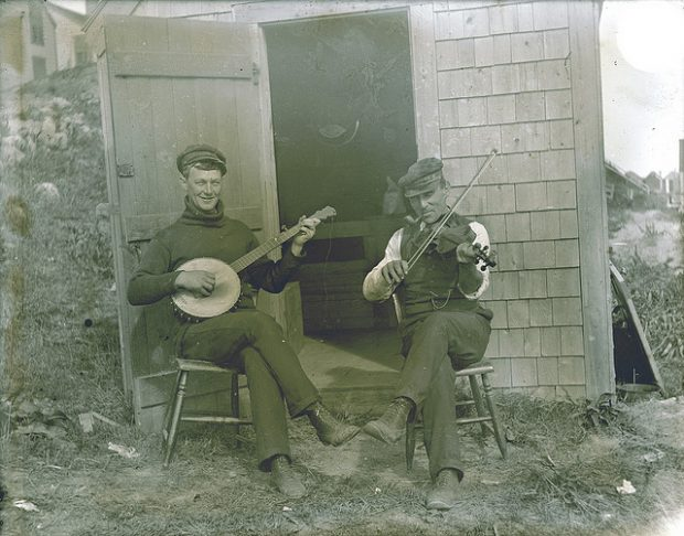 vintage photos of musicians
