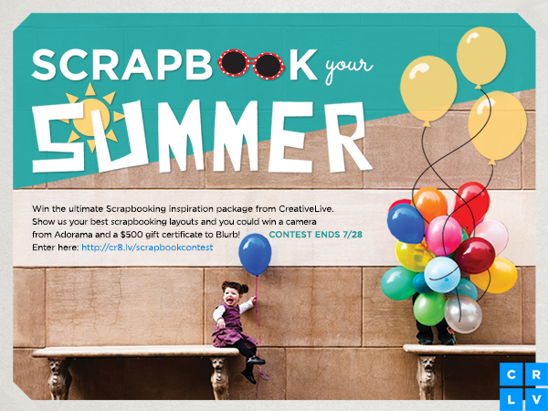 Summer Scrapbooking Ideas Plus A Contest