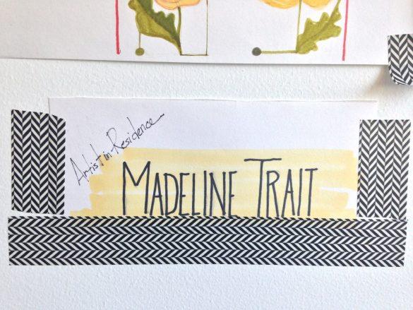 madeline trait artist in residence