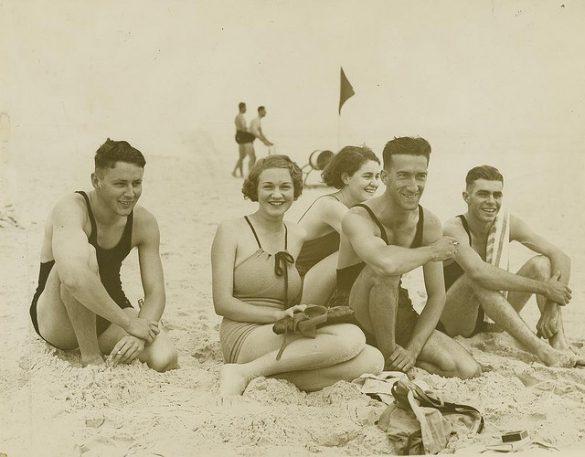 vintage beach photos