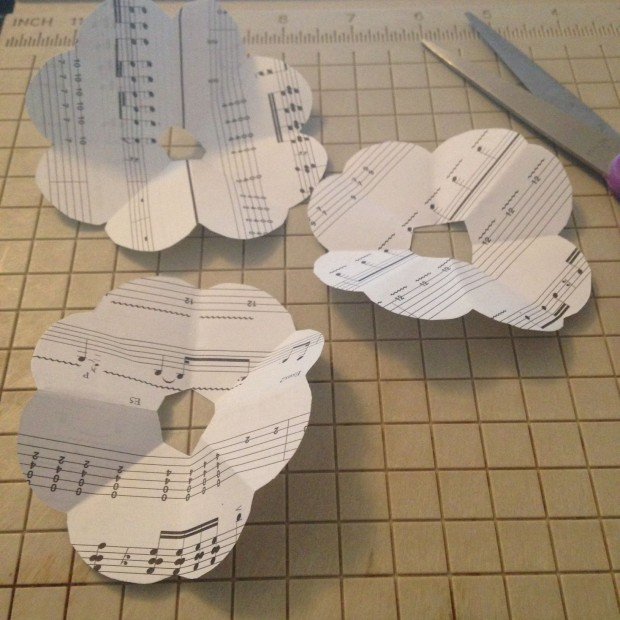 sheet music DIY