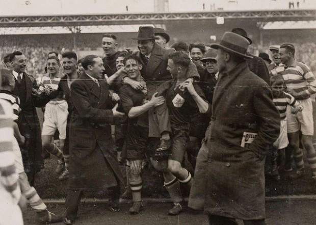 vintage soccer pictures