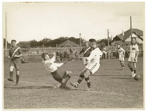 vintage soccer photos