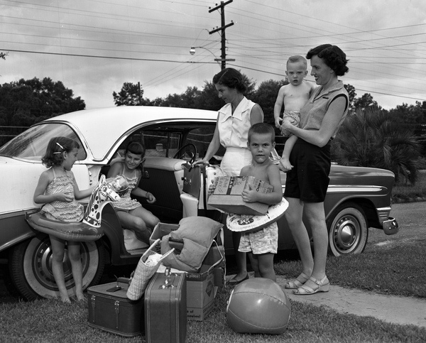 Vintage Family Vacation Photos