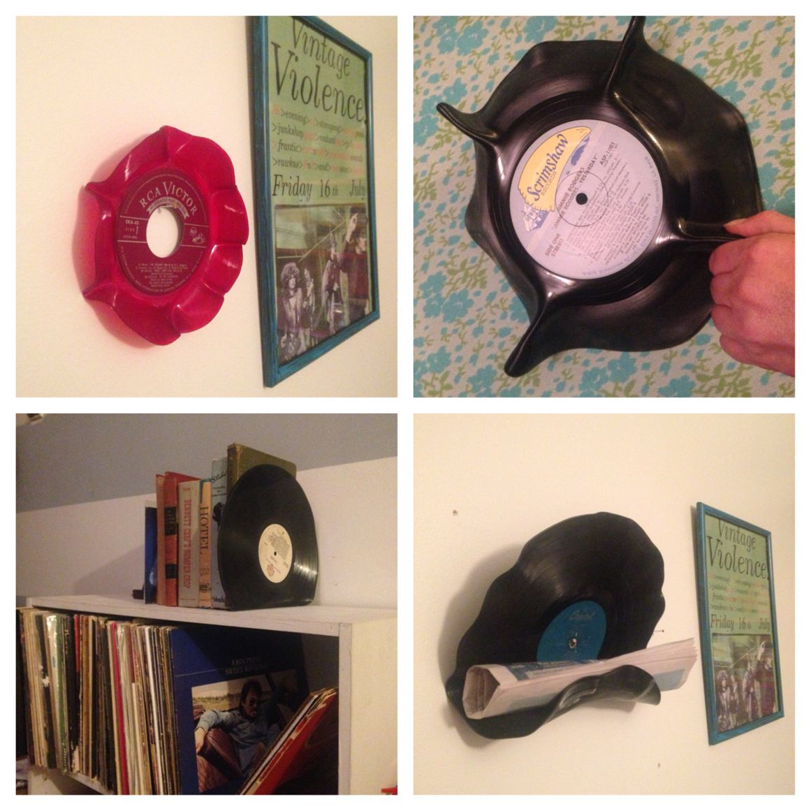 DIY: 5 Clever Ways to Upcycle Vinyl