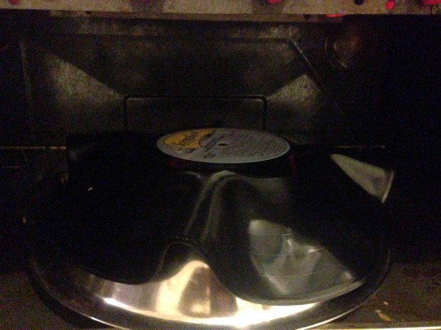 turn a record into a bowl