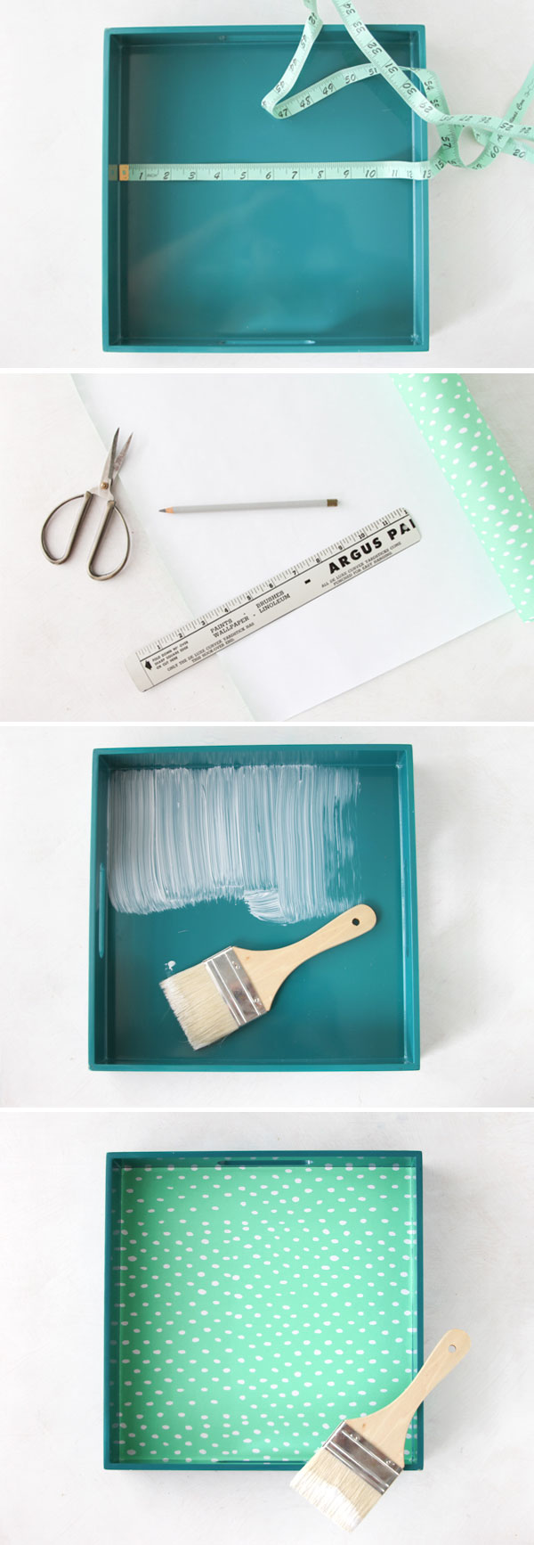 how-to serving tray