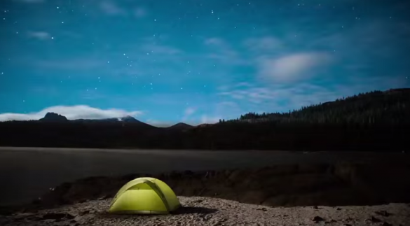 starry night time-lapse