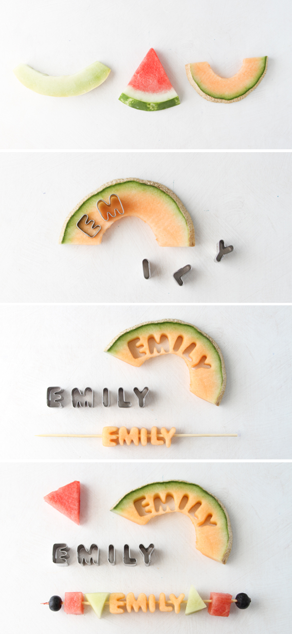 summer diy easy fruit kabob place cards