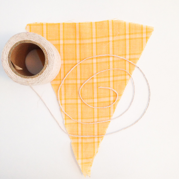 Learn how to make your own scrap fabric bunting on the CreativeLive blog.