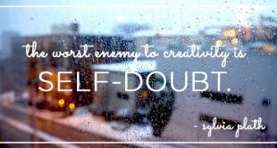 sylvia plath self-doubt