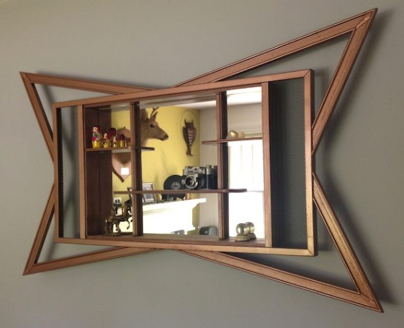 DIY art deco mirror