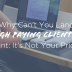 How to land Higher Paying Clients Without Lowering Price