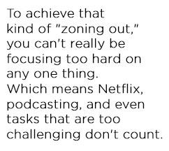 brain idling quote