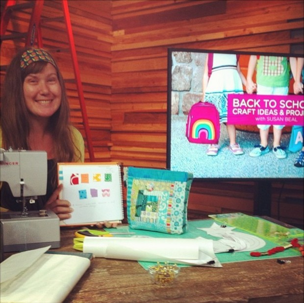 Learn to Sew: Check out Susan's 5 Tips for Beginning Sewers and her class, Simple Sewing Projects for Beginners on CreativeLive.