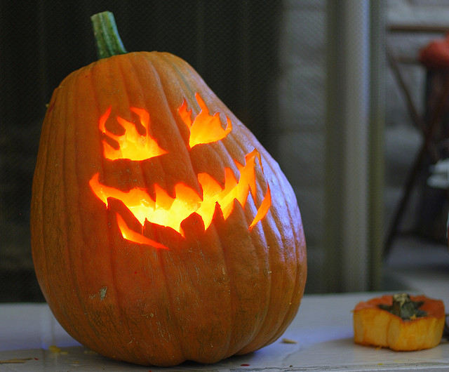 Pumpkins and power tools and free pumpkin carving stencils
