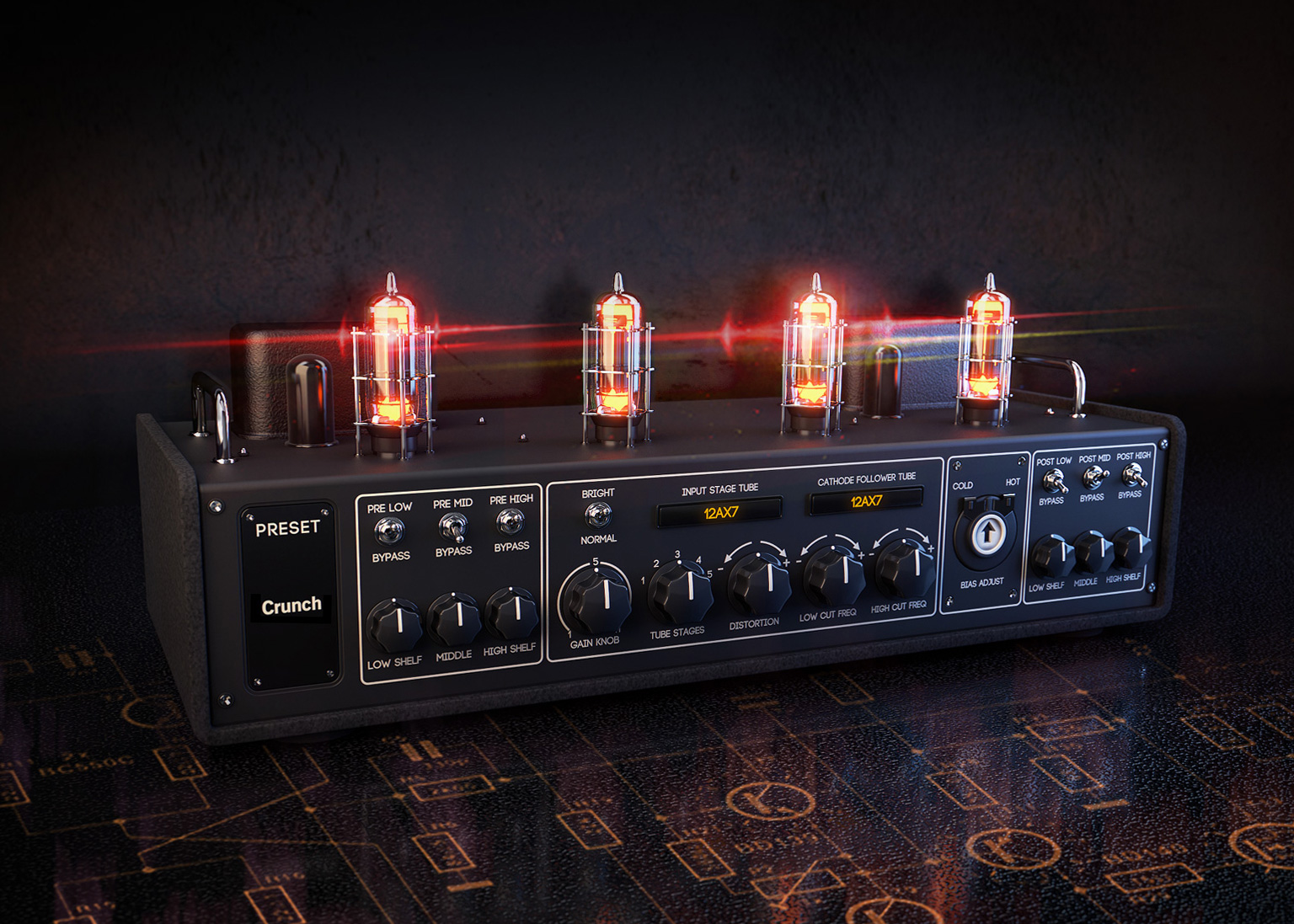 Customize Everything Positive Grids Bias Is Changing The Way You Mix Tube Amp Power Transformer 8211 Guitar Amplifier Analysis