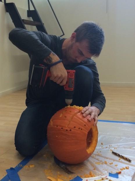 pumpkin carving power tools