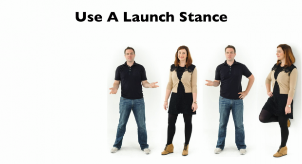 launch stance elevator pitch