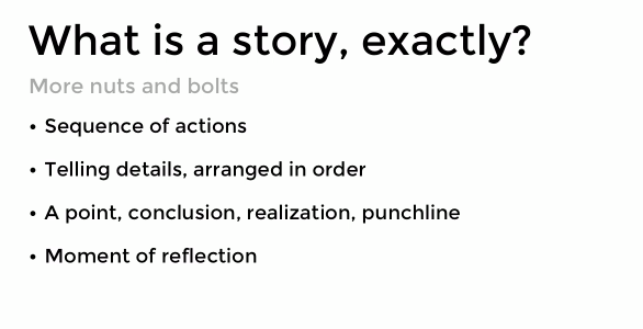 how to tell better stories