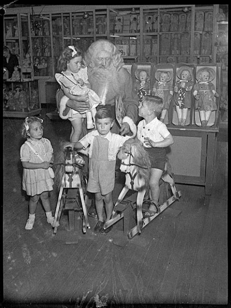 vintage christmas photos