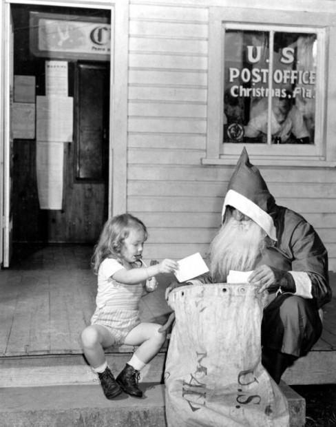 vintage santa photos