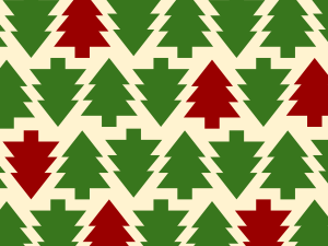 holiday patterns color of the year
