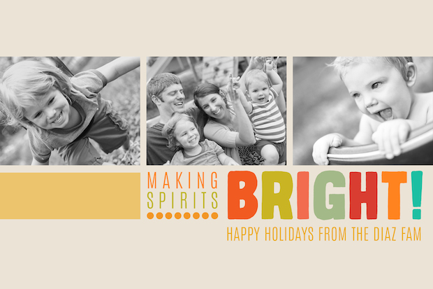 We made this for you free holiday card templates for for Free christmas card templates for photographers