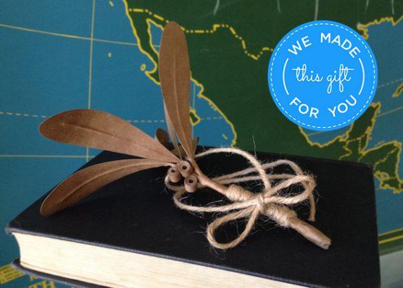 free diy mistletoe craft idea