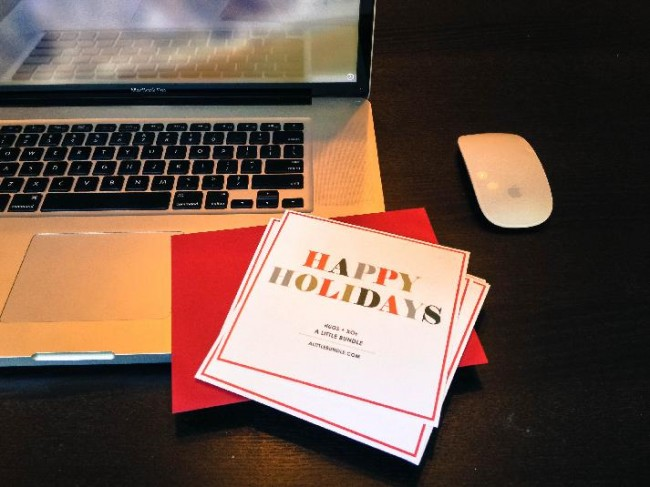 digital holiday cards for corporations
