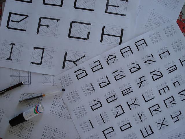 fonts studies