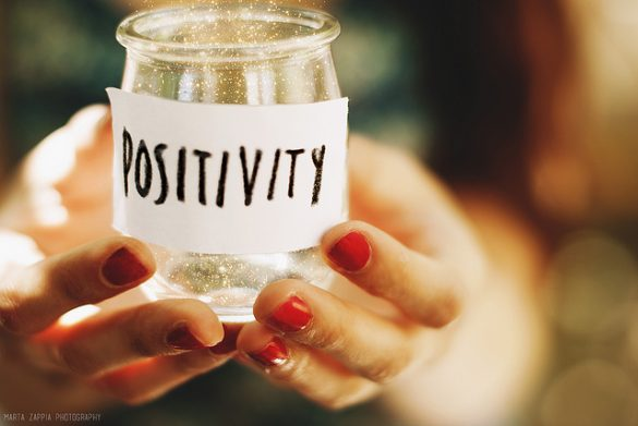 how to be more positive at work