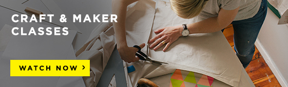 Craft and Maker Classes on CreativeLive!